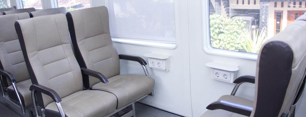 Interior yang nyaman | penumpang.kai.id